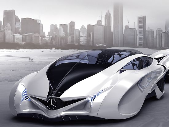 Dolphin concept car mimics its namesake for agility, power and grace 4