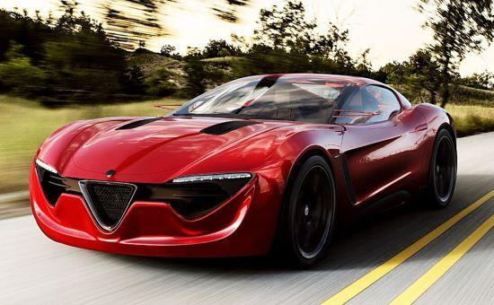 Alfa Romeo 6C Sports Coupe concept  5