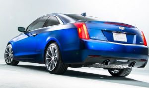 2015-Cadillac-ATS-Coupe-rear-view