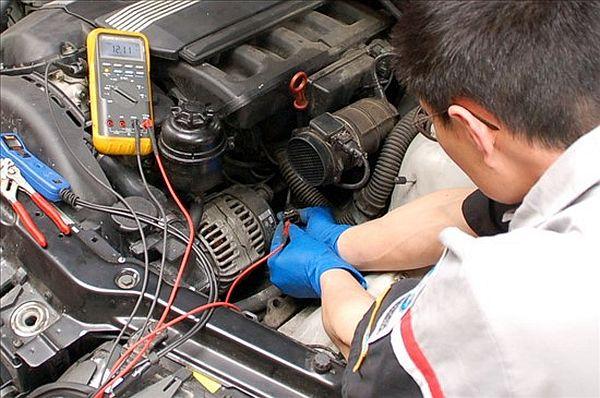 alternator problems in car