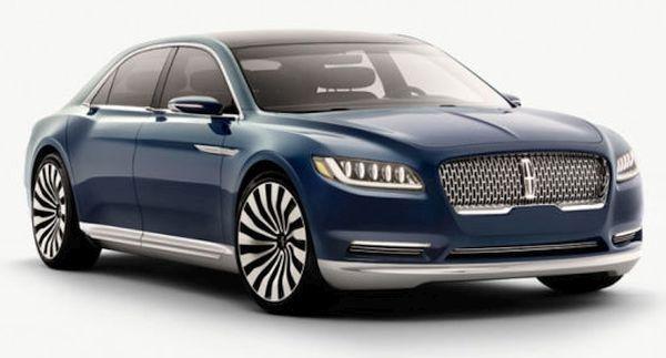 2016 Lincoln Continental