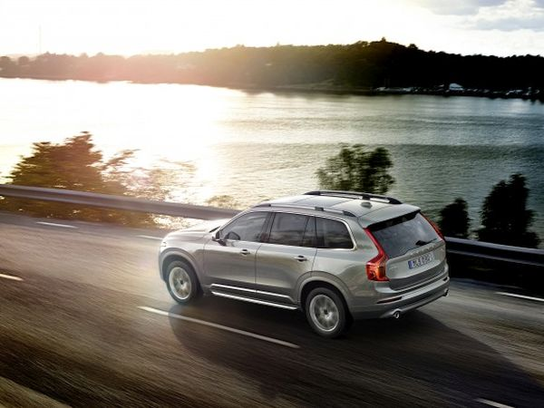 The self driven Volvo XC90