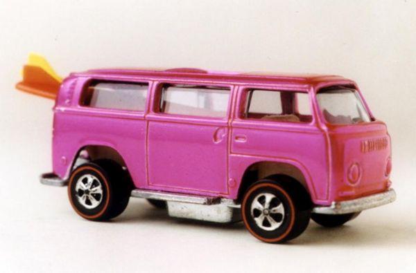 1969 Pink Volkswagen Beach Bomb
