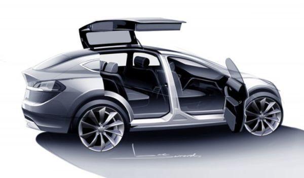 Tesla's Model X SUV 3