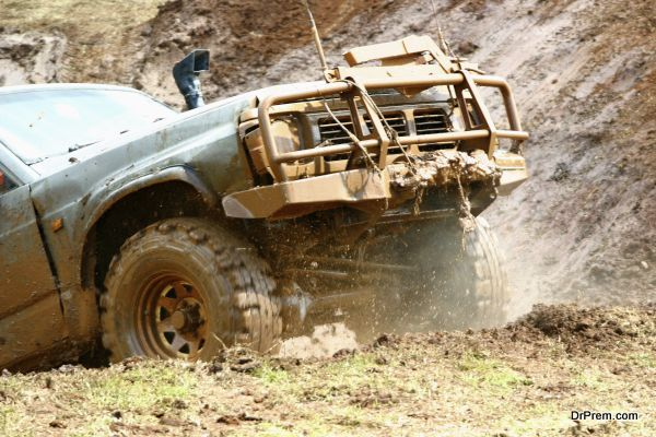 No dirty, muddy and sticky tires