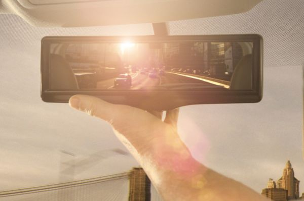 Nissan's Smart rear-view mirror