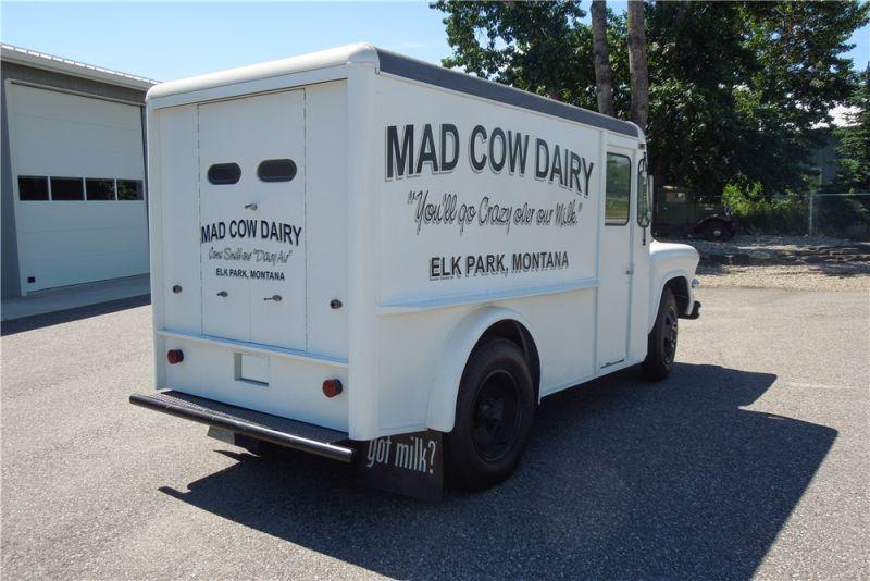 1956 GMC Custom Milk Truck