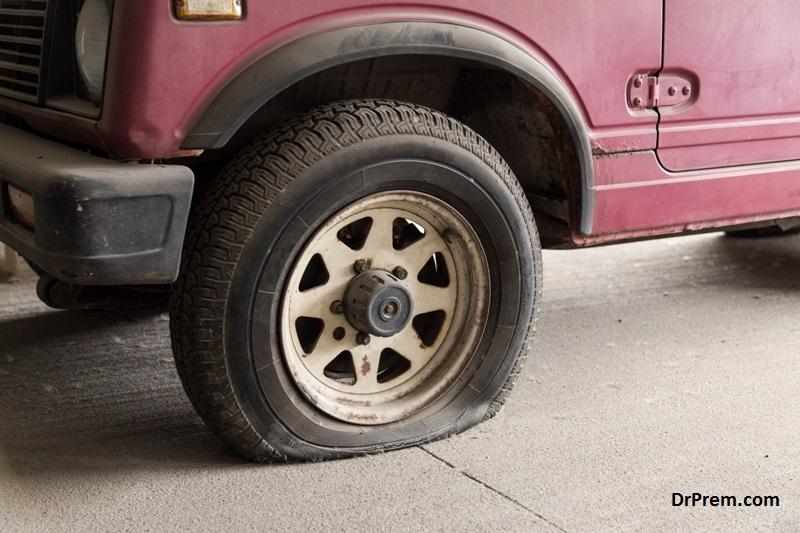 Goodbye to flat tires: