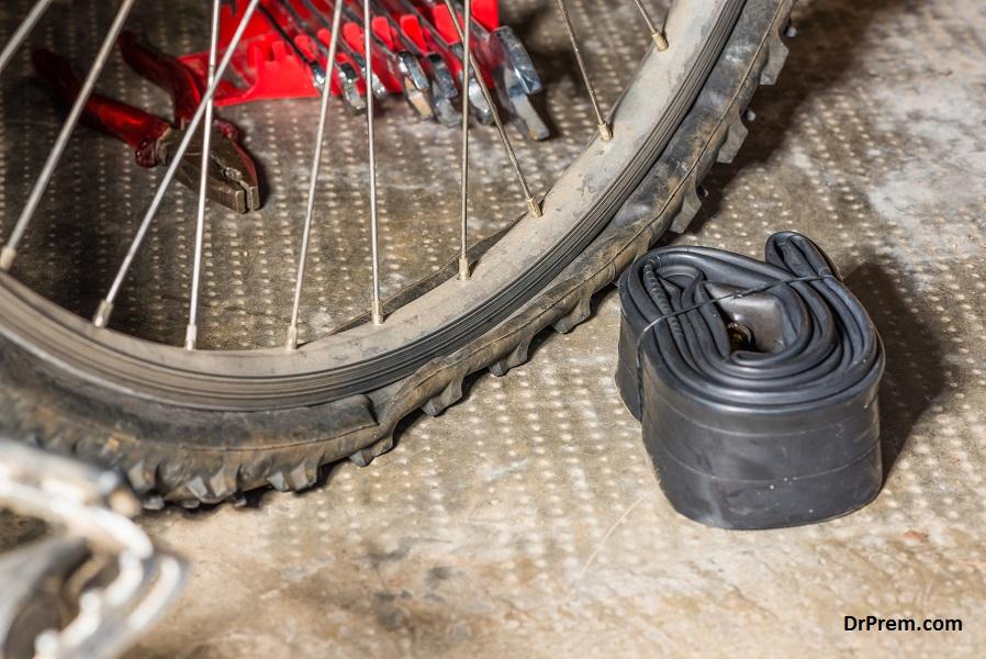 Tube tire
