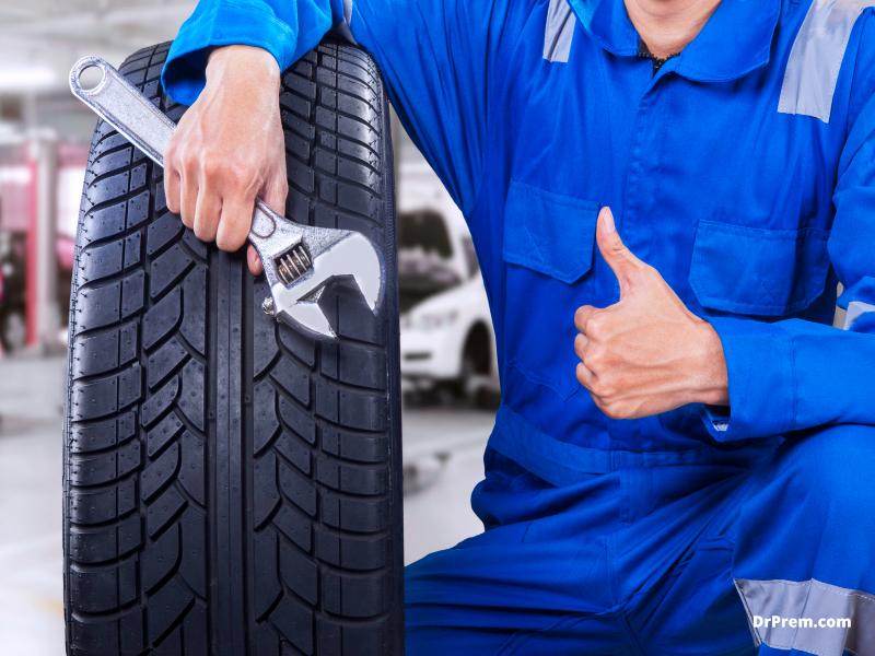 Get new tires