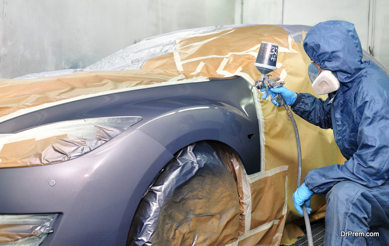 Give your car a paint job