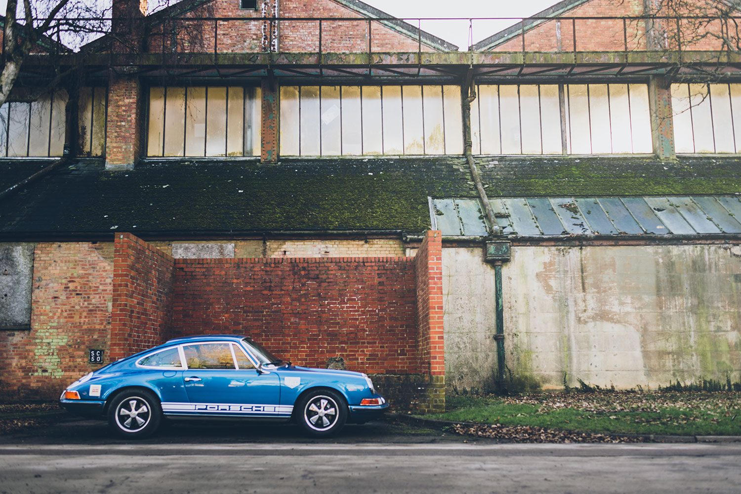 The Blue Pearl at Bicester Sunday Scramble - 1972 Porsche 911T