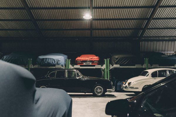 Car Storage at Auto Classica Storage