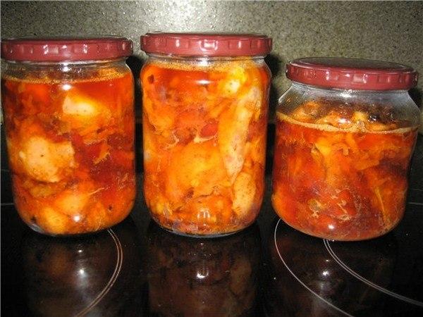 килька в томатном соусе в автоклаве