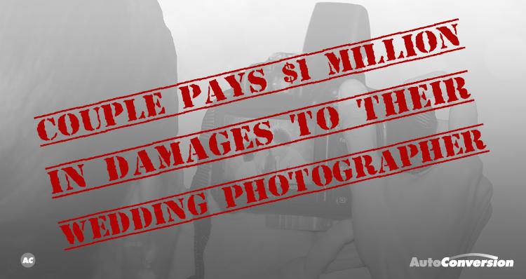 photographer sues wedding couple