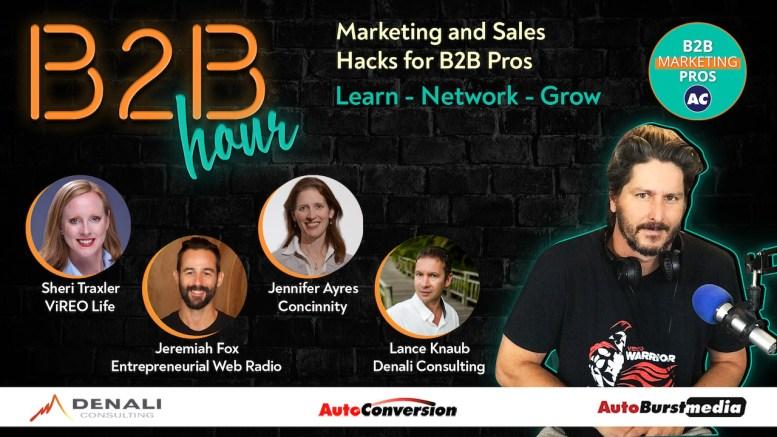The B2B Hour on AutoConversion