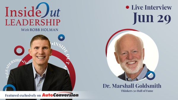 Robb Holman Inside Out Leadership Interview w/ Marshall Goldsmith
