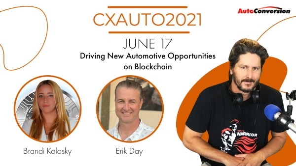 CXAUTO2021 Panel - New Mobility and AutoTech on Blockchain
