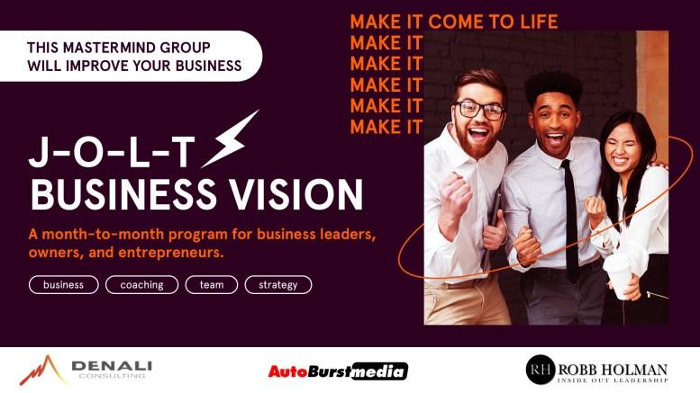 JOLT Business Vision Mastermind Program
