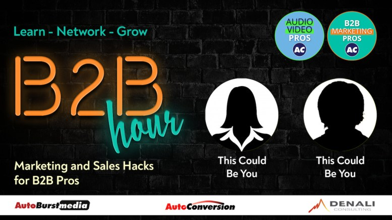 Be a Guest on the B2B Hour