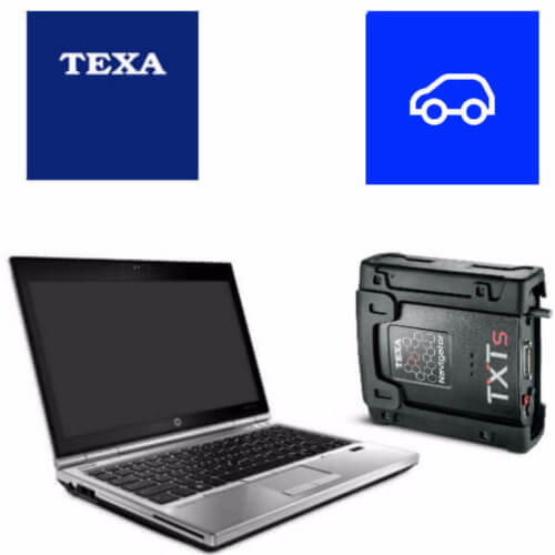 Texa Car & Light Commercial PC Package