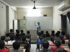 English teacher teaching the CBSE students