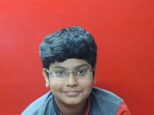 Mayank Kagliwal 8th A batch 1st Rank