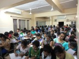 Students Of 9th Std getting their queries solved (2)