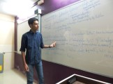 X Std student giving his science seminar (1)