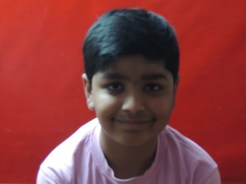 Yash Makwana 6th Std 1st Rank