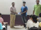 1st rank Raj Baheti 9th std