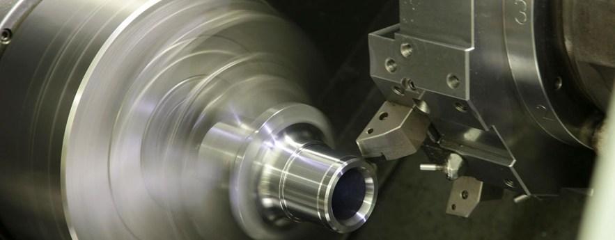 CNC lathe turning metal CAM