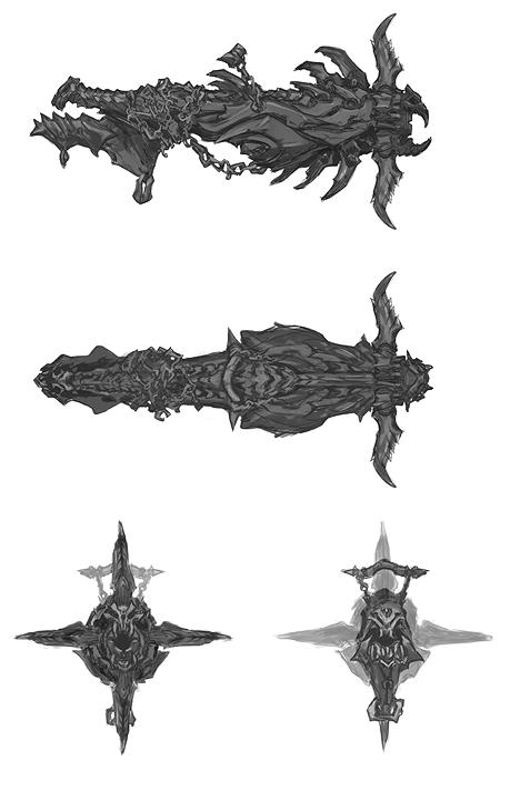 Darksiders Weapons