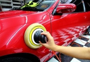 Polished car wax
