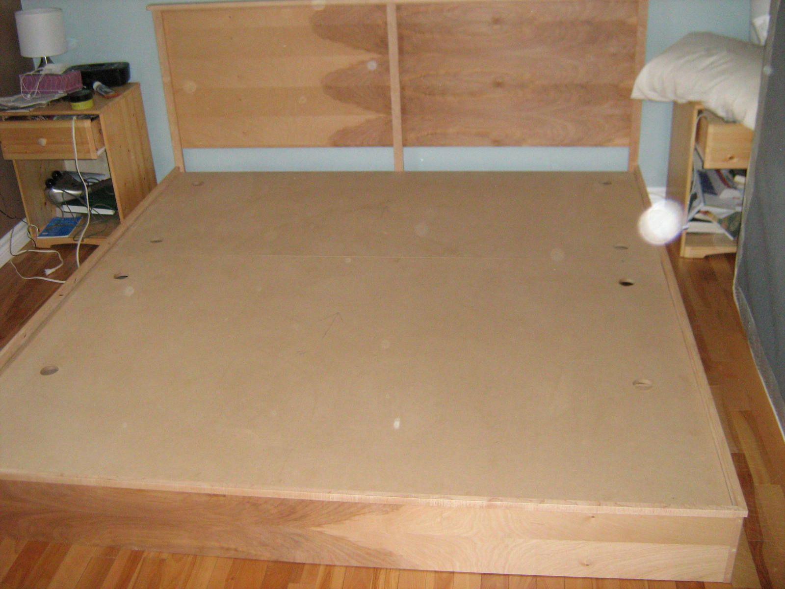 Woodwork King Bed Platform Diy Plans