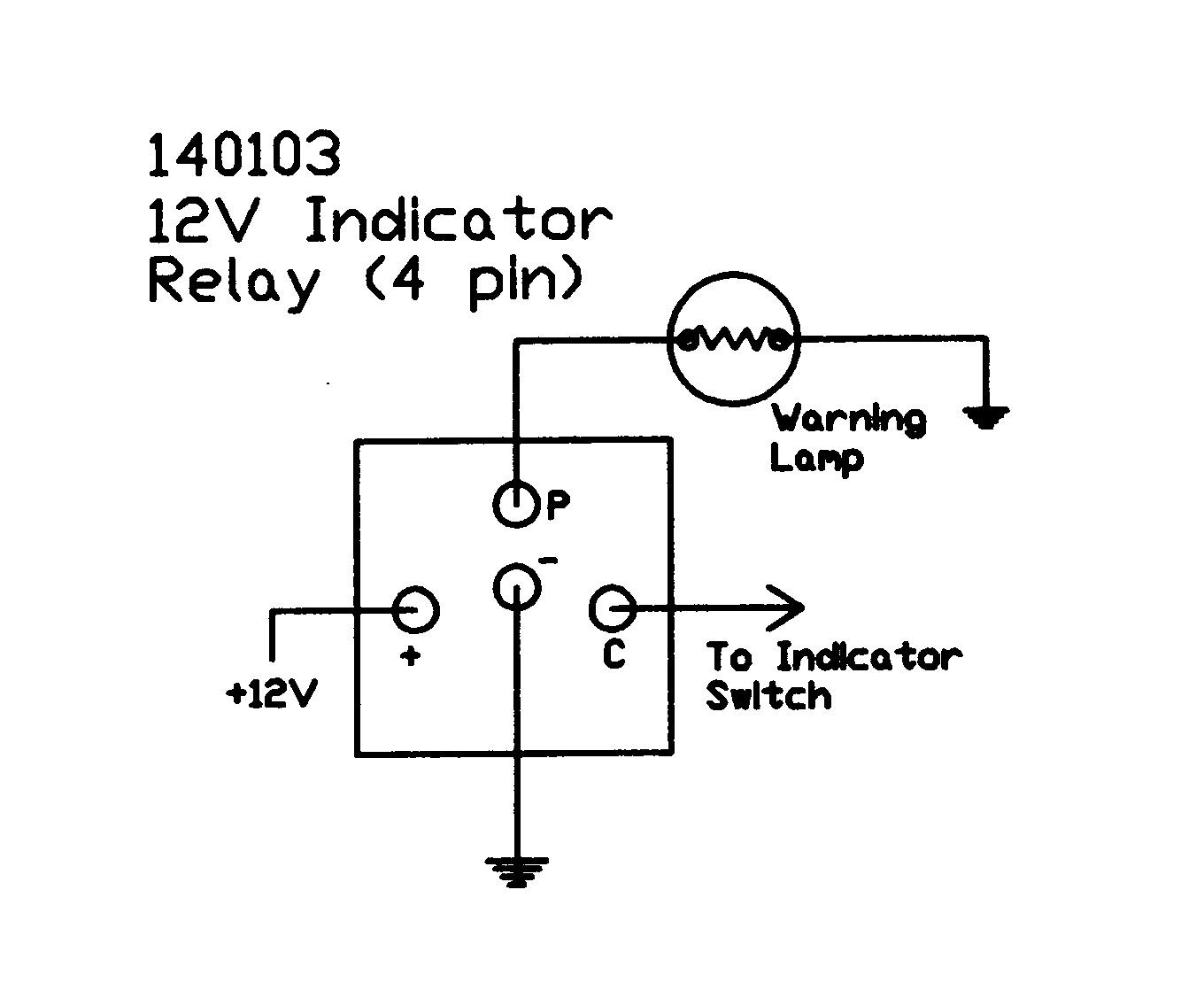 12v 30a Relay 4 Pin Wiring
