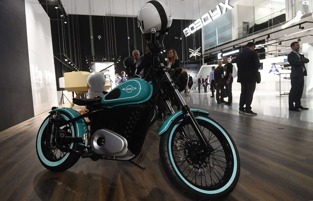 AK-47 maker Kalashnikov expands EV lineup, unveils Izh-49 electric motorcycle