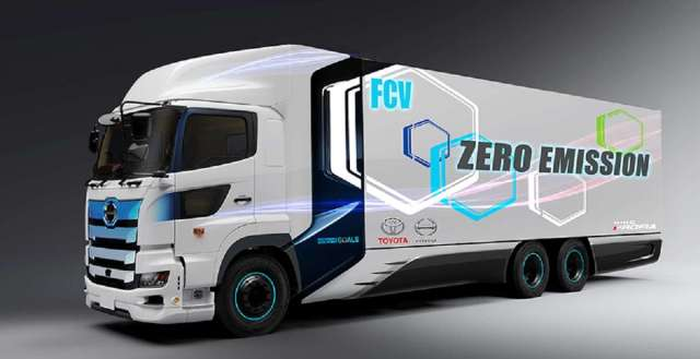 Toyota Hino Hydrogen fuel cell
