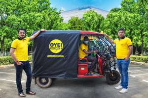 Electric Shared mobility Oye! Rickshaw