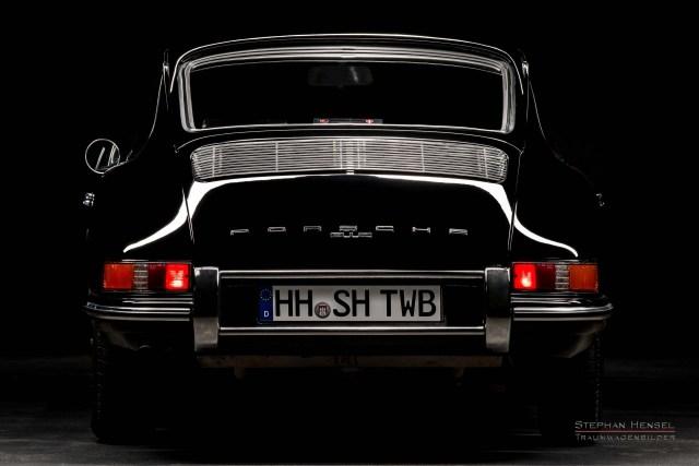 PORSCHE 912, Studioaufnahme, Ansicht von hinten, Autofotograf: Stephan Hensel, Hamburg
