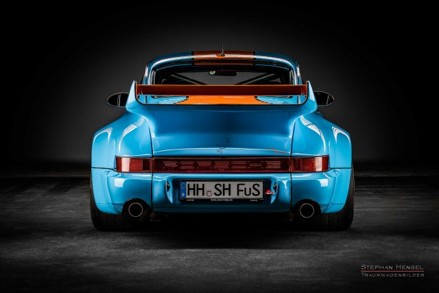 PORSCHE 964 RS 3.8, Ansicht von hinten, Stephan Hensel, Autofotograf, Hamburg