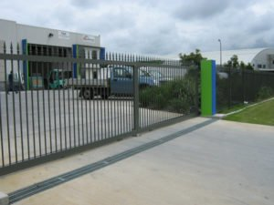 Commercial Spear Top Sliding Gate