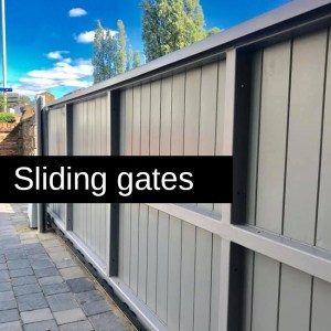 Sliding gates - Home