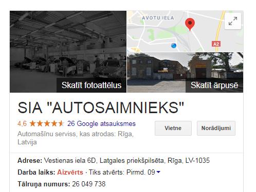 autosaimnieks