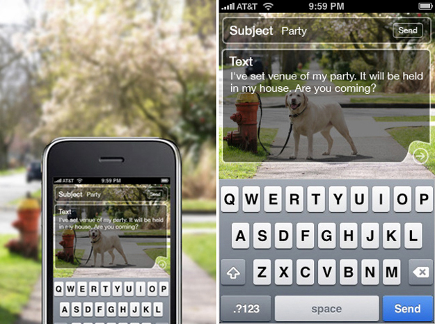 Type-Walk-Text-App