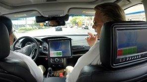 Honda показала автономный автомобиль в действии