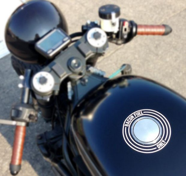 One-Off-Hormel-Black-Label-Bacon-Fueled-Motorcycle