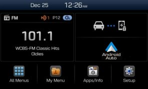 Hyundai представит на CES 2015 новую мультимедийную систему