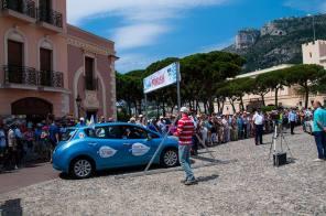 Electric Marathon: Электромобили доехали из Киева в Монако