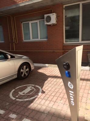 В Херсоне открылась первая заправка для электромобилей